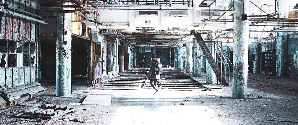 Fábrica abandonada