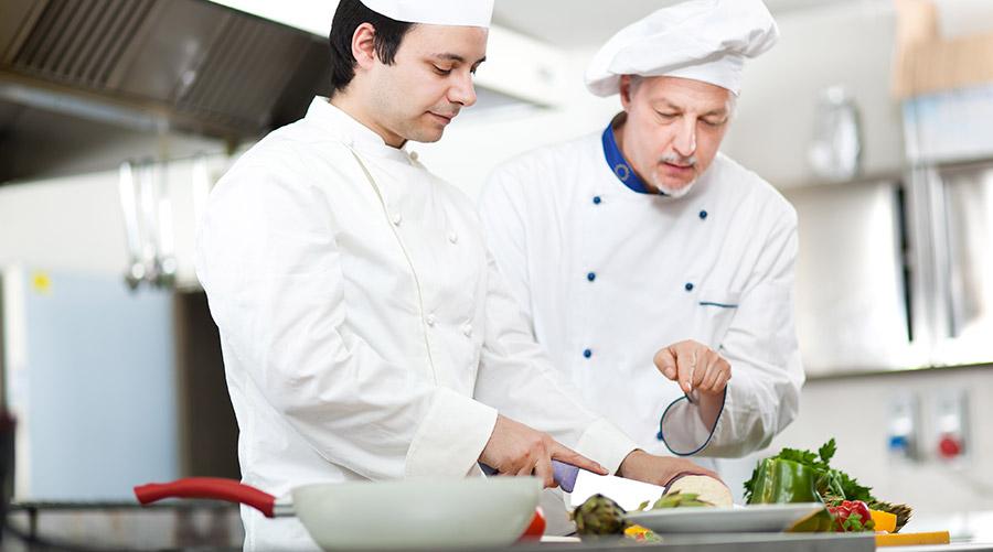 cocineros de alta cocina