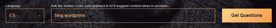 buscador de contenido