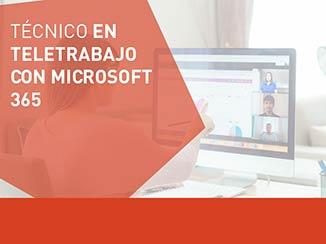 Cursos de teletrabajo con Microsoft 365